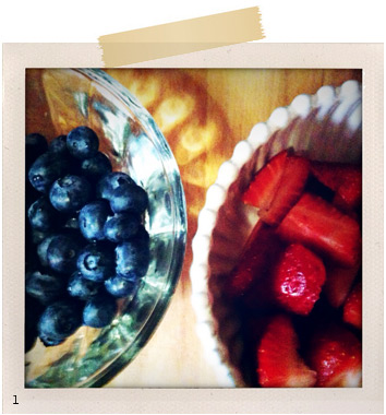 Mixed Berries - Strawberries and Blueberries